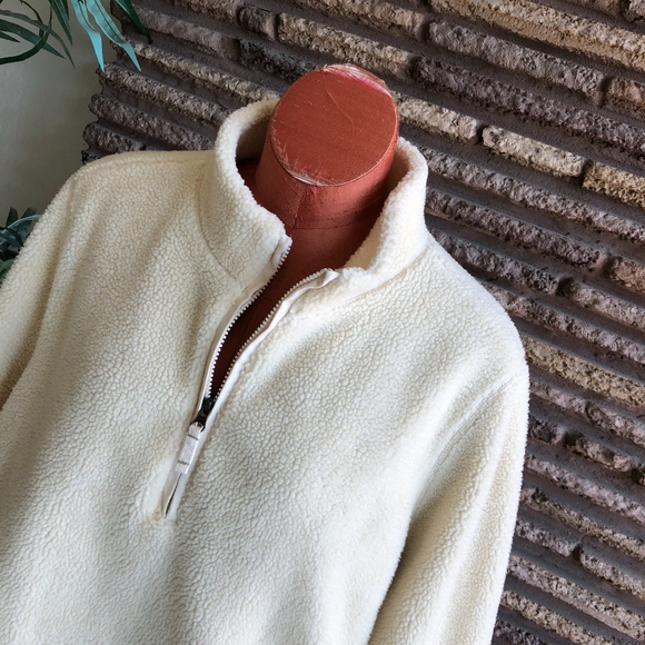 0a24bcac1ee Lands  End Tops - Lands End Plus Size Heavy Sherpa Fleece Pullover